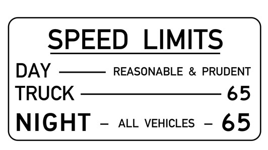 Montana Speed Limit: Reasonable & Prudent