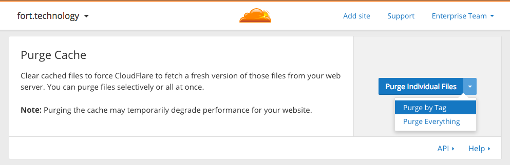 Introducing a Powerful Way to Purge Cache on CloudFlare: Purge by