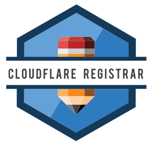 CloudFlare Registrar Badge