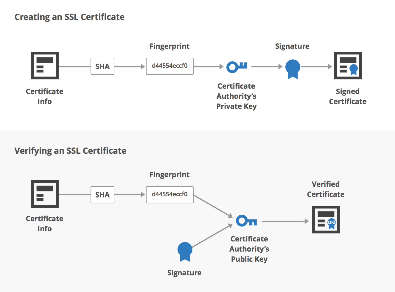 Tls certificate optimization lazyloading for legacy browsers creating and validating the cas signature xflitez Images