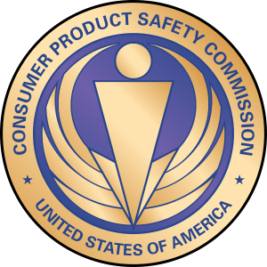 Logo of the Consumer Product Safety Commission