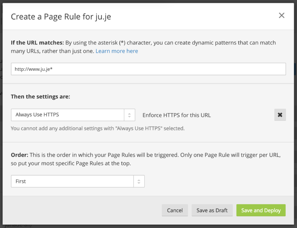 Secure and fast GitHub Pages with CloudFlare