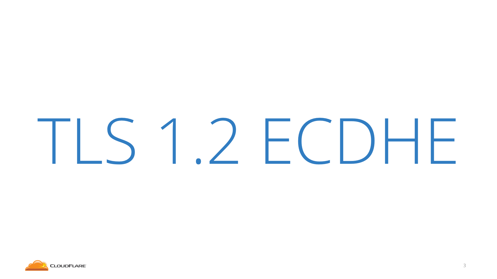 TLS 1.2 ECDHE