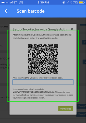 You can now use Google Authenticator and any TOTP app for ...