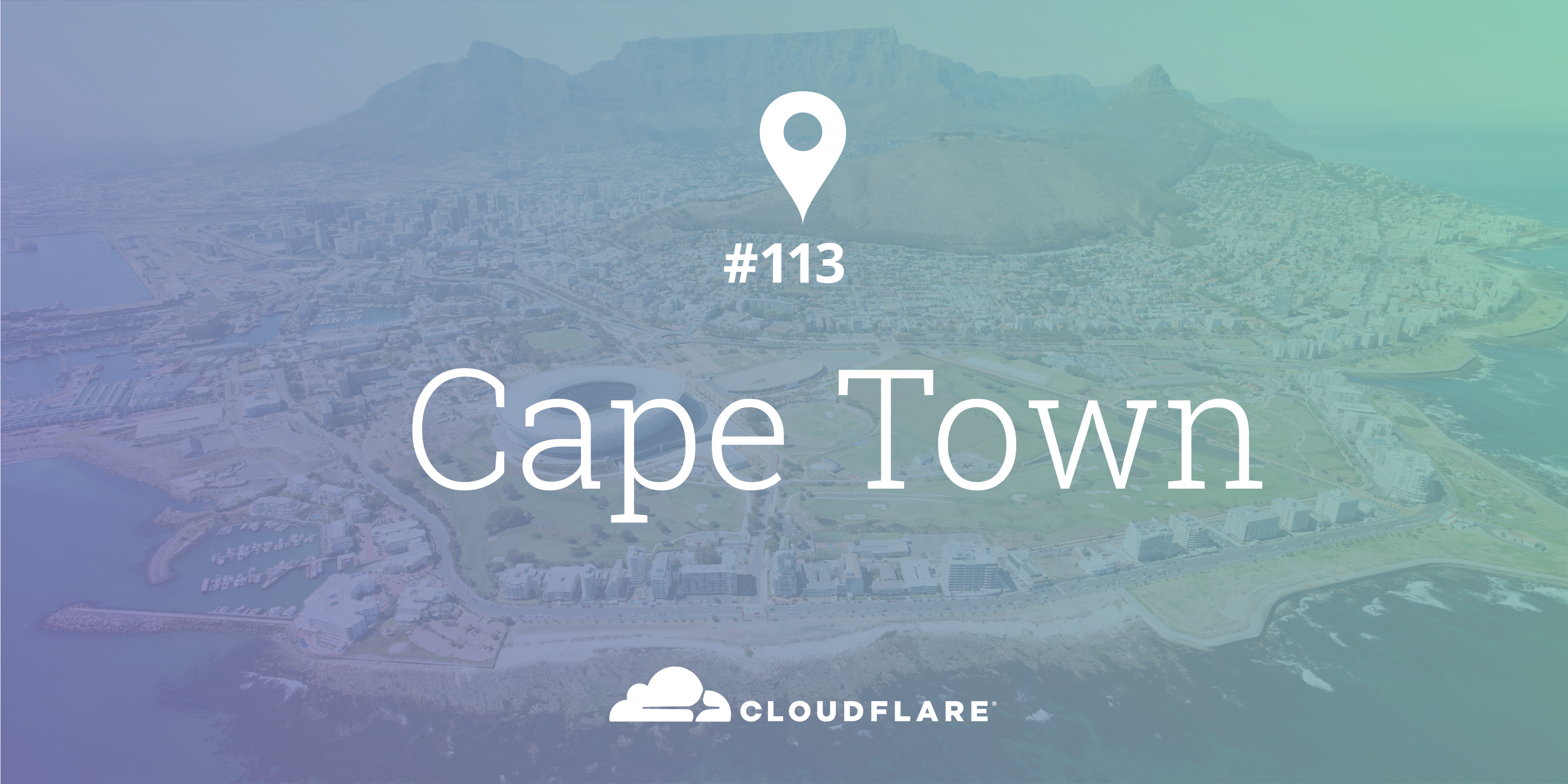 Cape Town (South Africa): Cloudflare Data Center #113