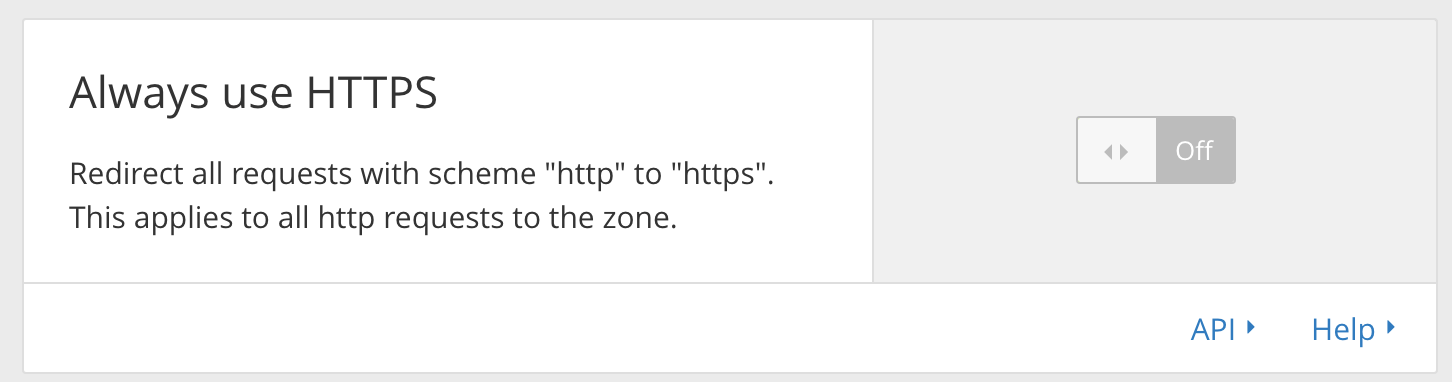 How to make your site HTTPS-only