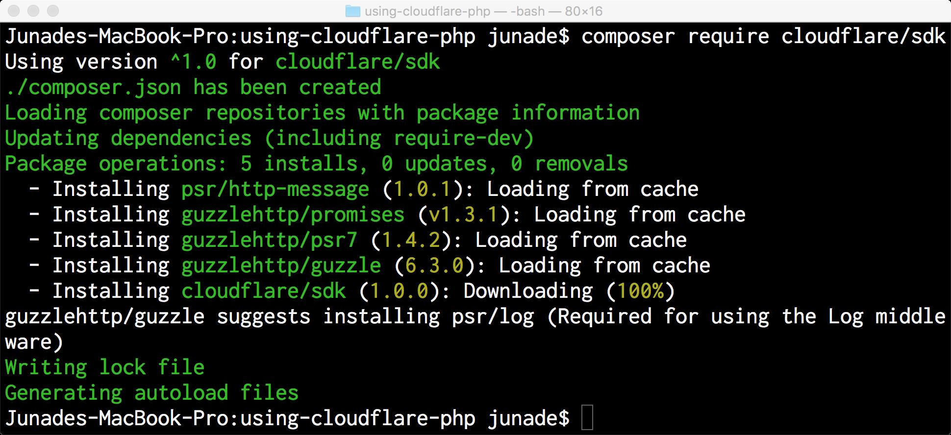 how to make an api using php