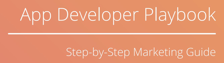 App Developer Playbook Image