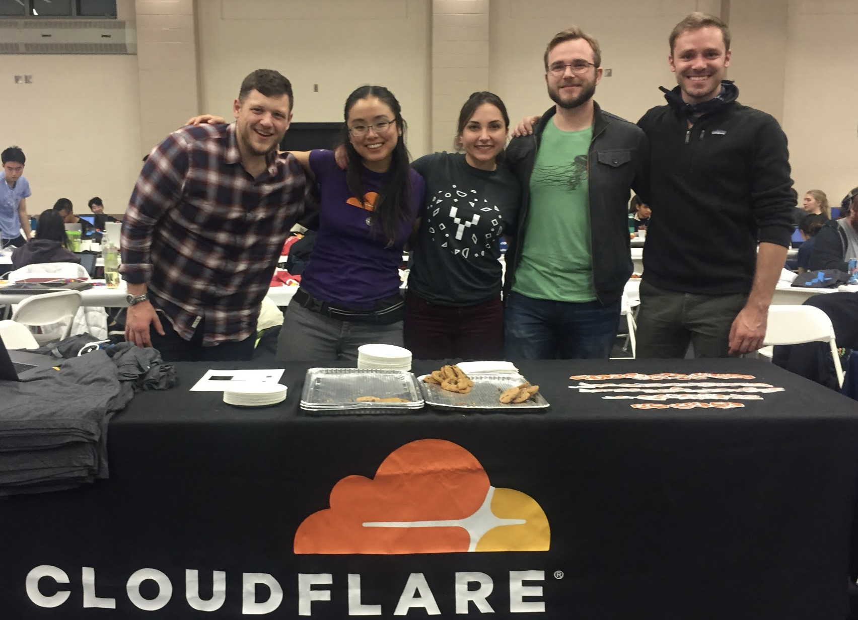 Highlights from Cloudflare's Weekend at YHack