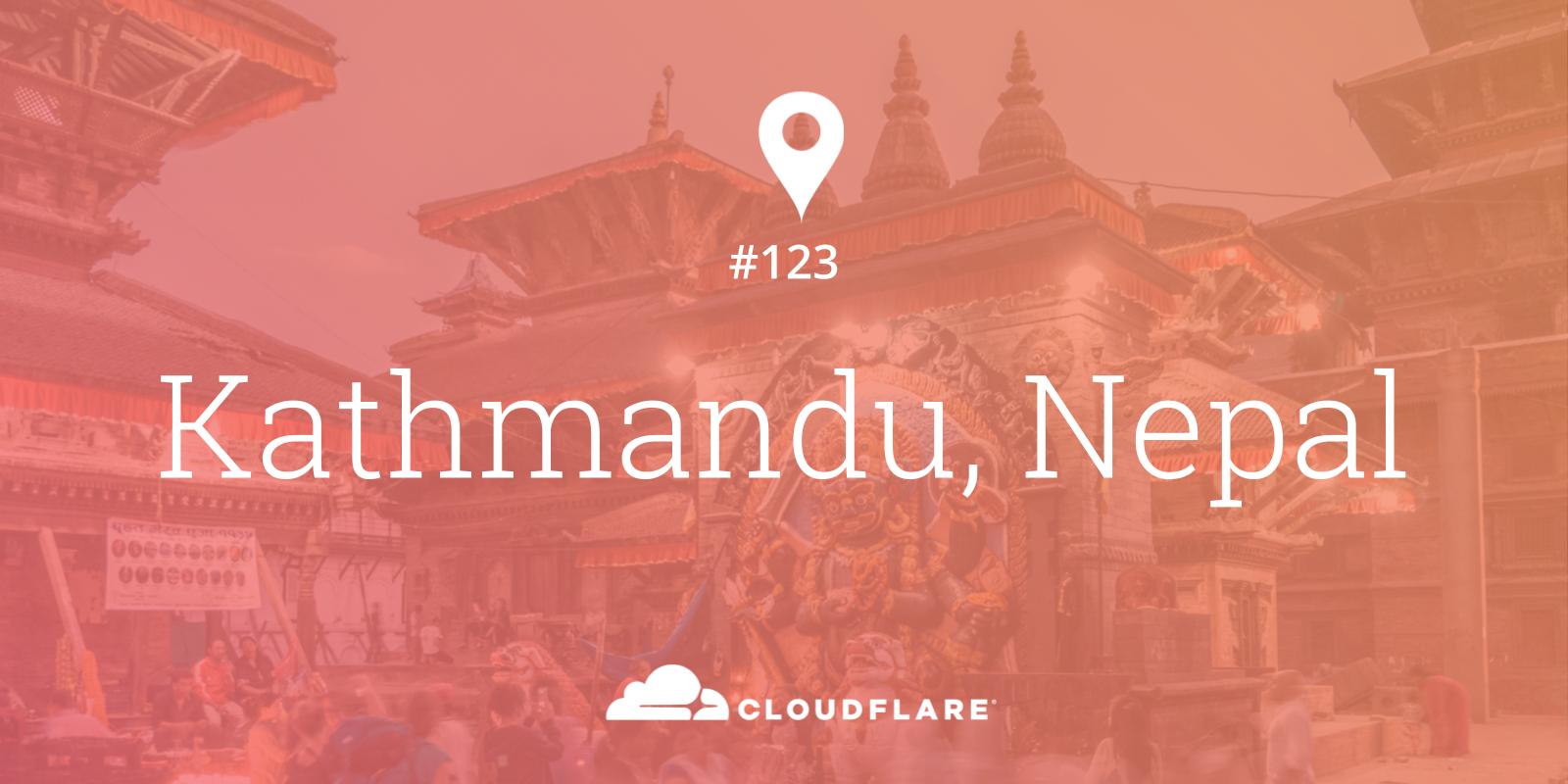 Kathmandu, Nepal is data center 123