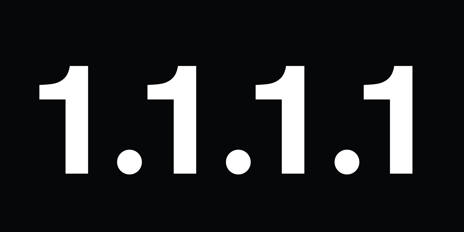 Introducing DNS Resolver, 1.1.1.1 (not a joke)