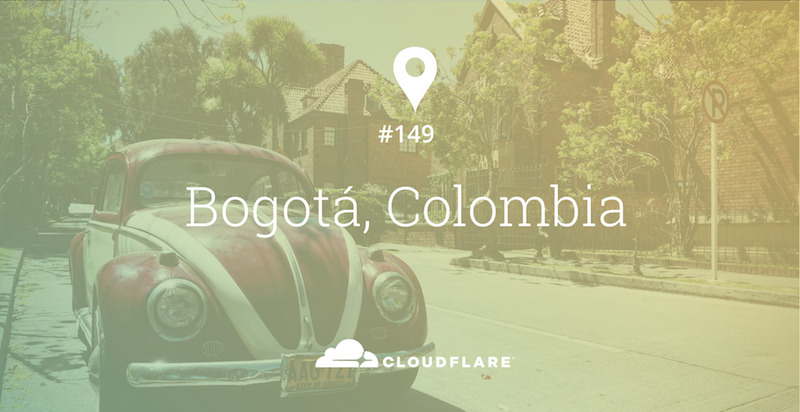 2,600 meters closer to the stars: Cloudflare Data Center #149 in Bogotá, Colombia