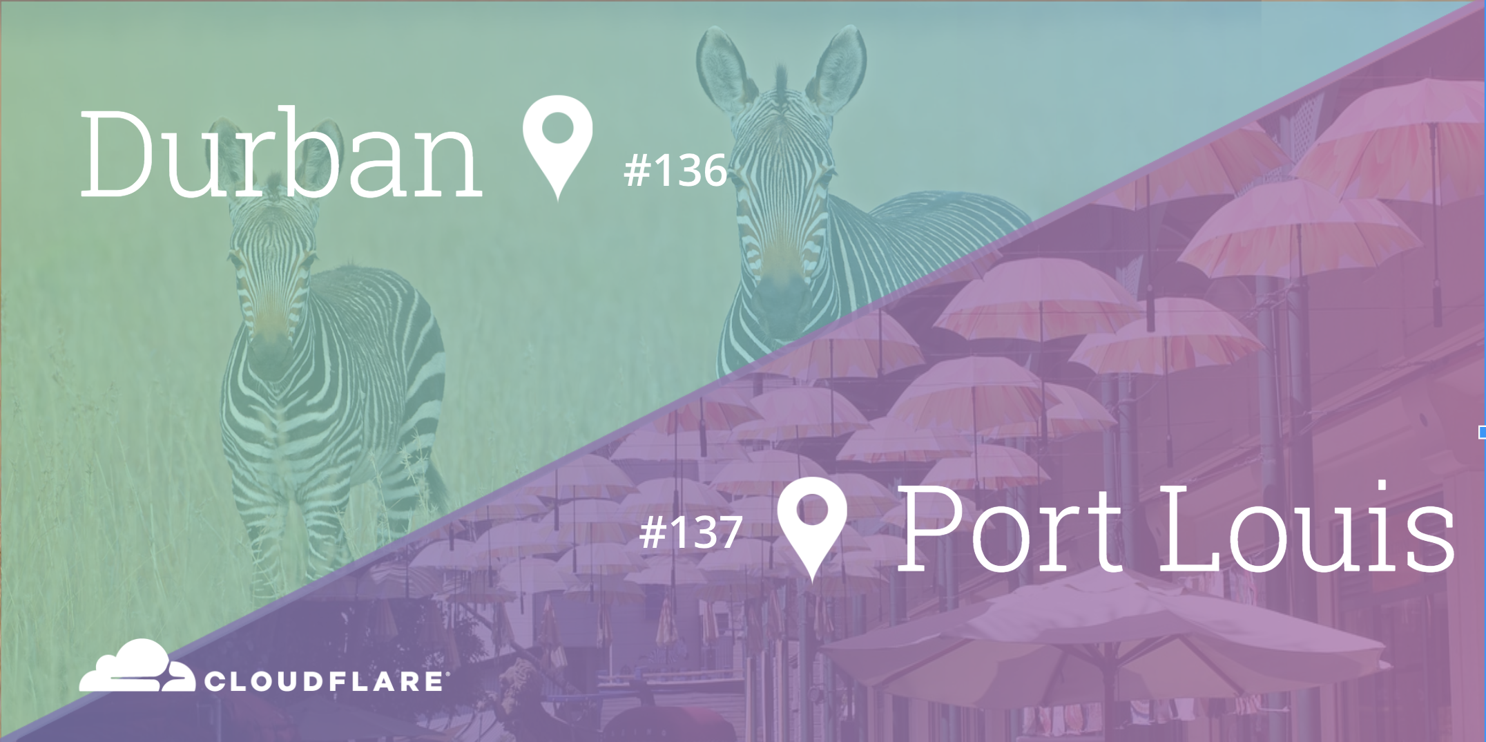 Cloudflare Global Network Spans 137 Cities: Launching Durban and Port Louis Data Centers