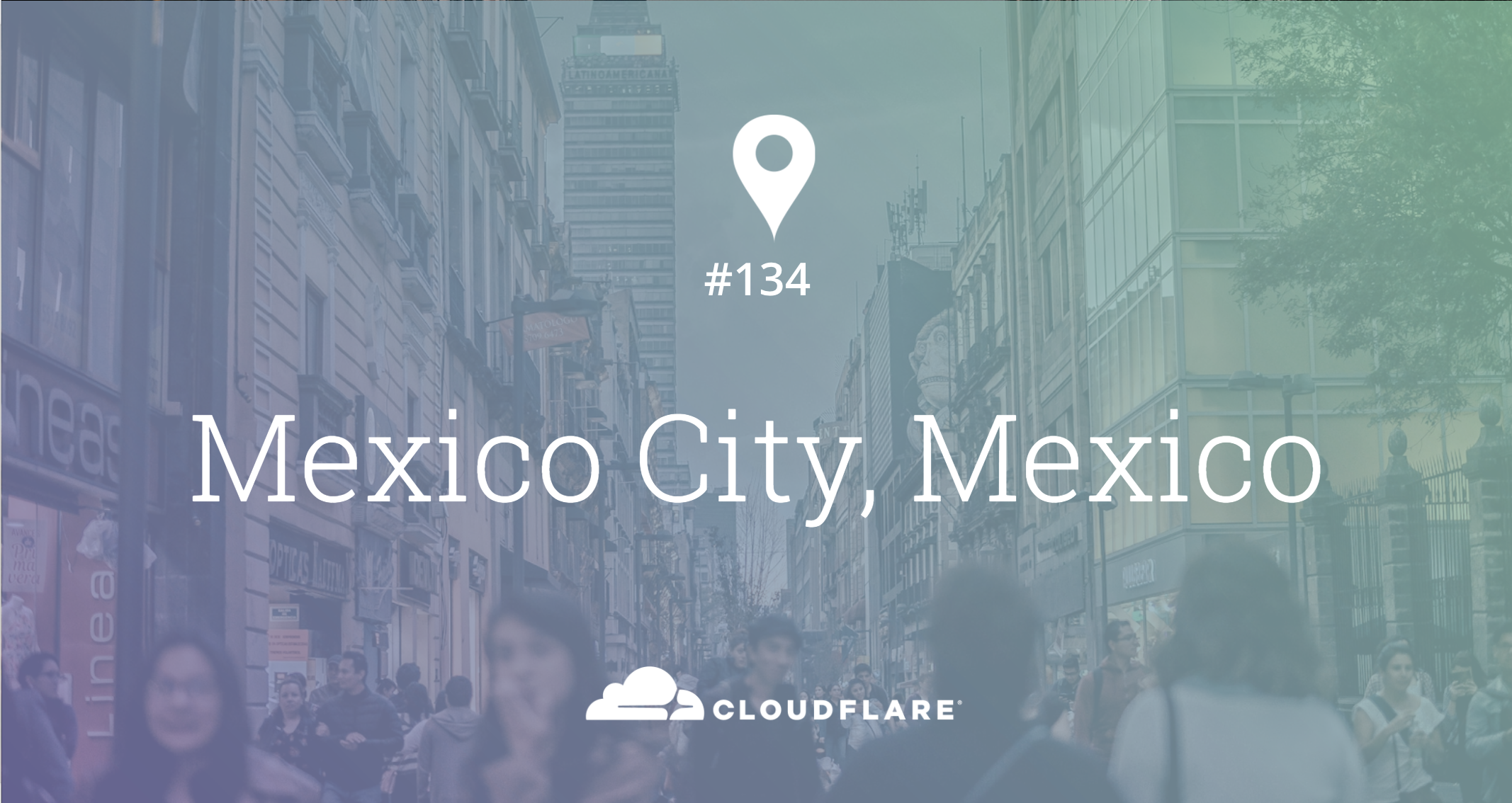 Mexico City, Mexico: Cloudflare Data Center #134