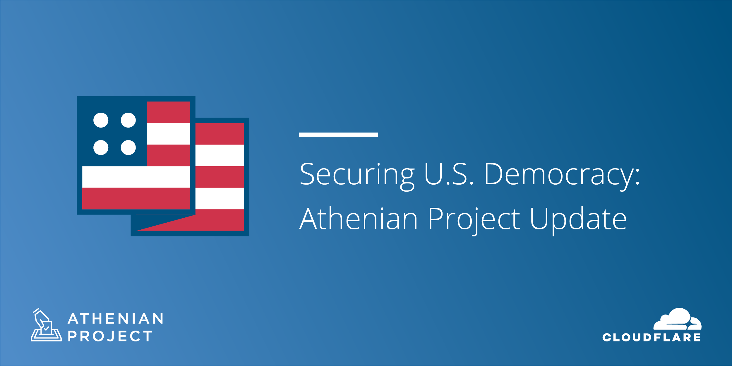 Athenian Project Update