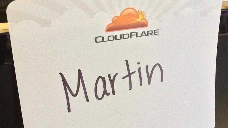I joined CloudFlare on Monday along with 5,000 others