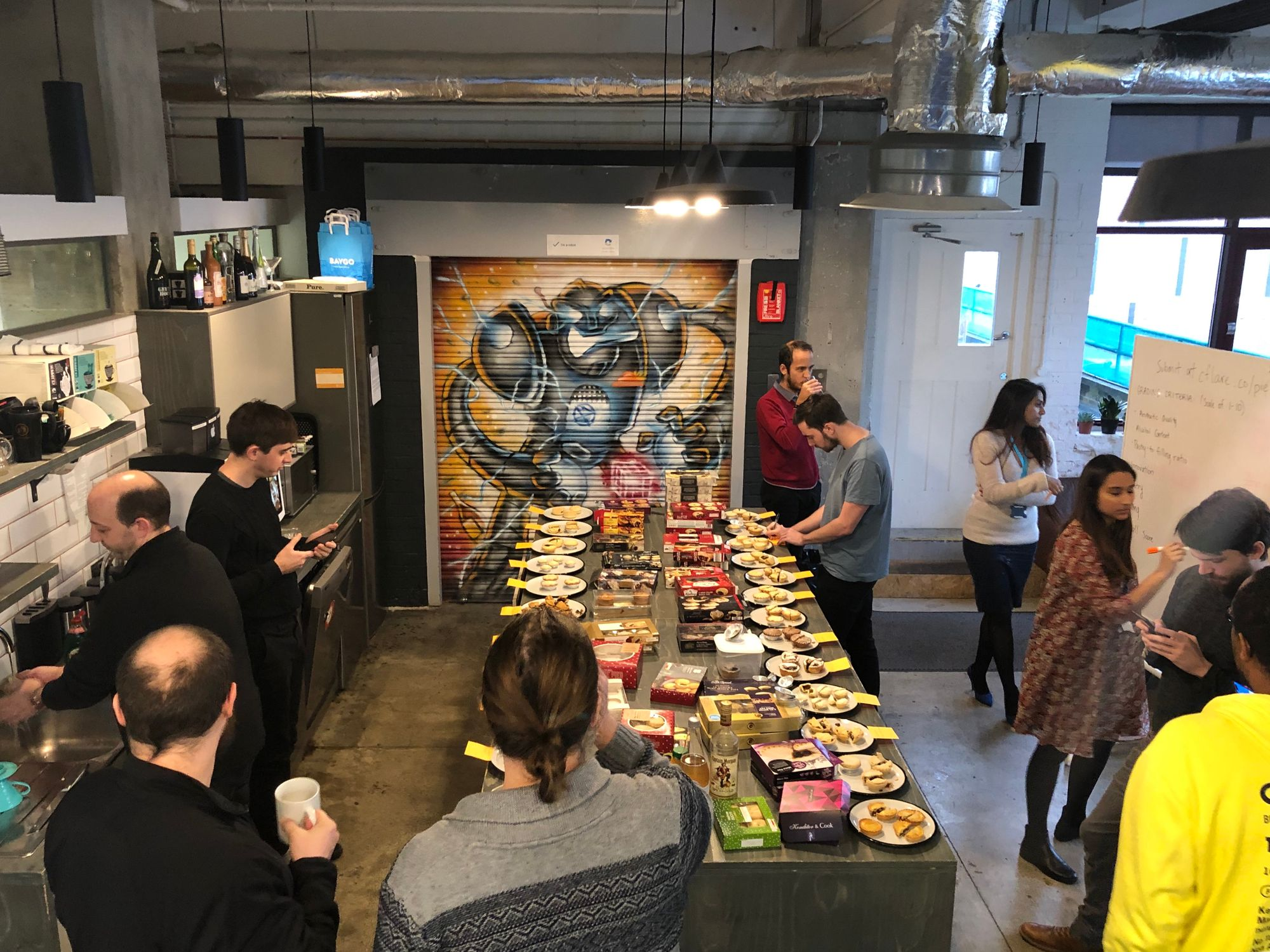 The 2018 Cloudflare Mince Pie Jam