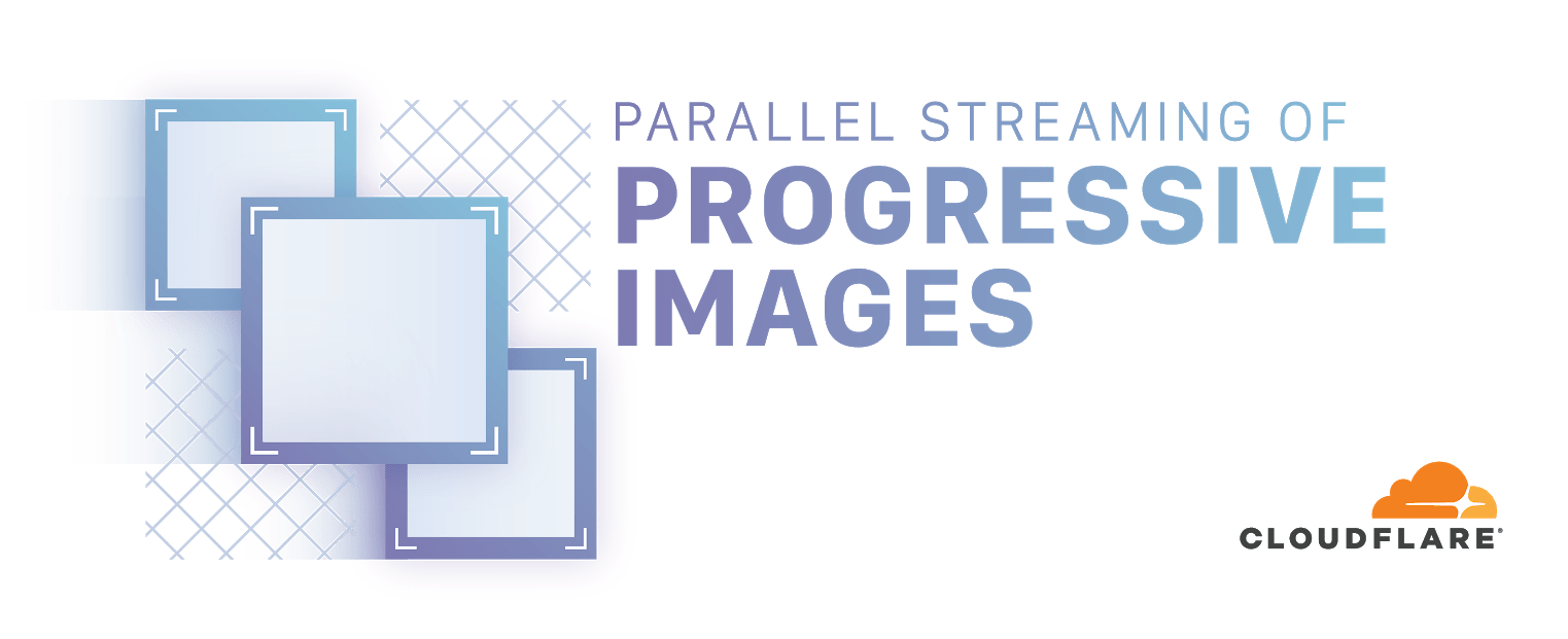 Parallel streaming of progressive images