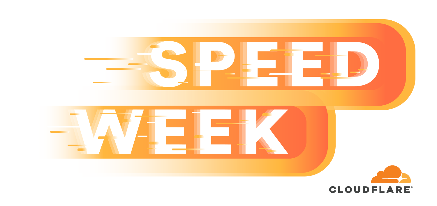 Welcome to Speed Week!