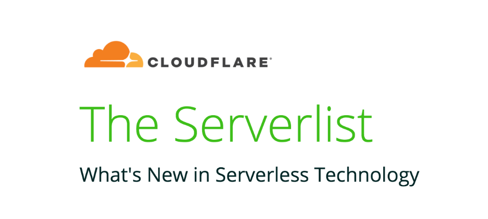The Serverlist Newsletter: Connecting the Serverless Ecosystem
