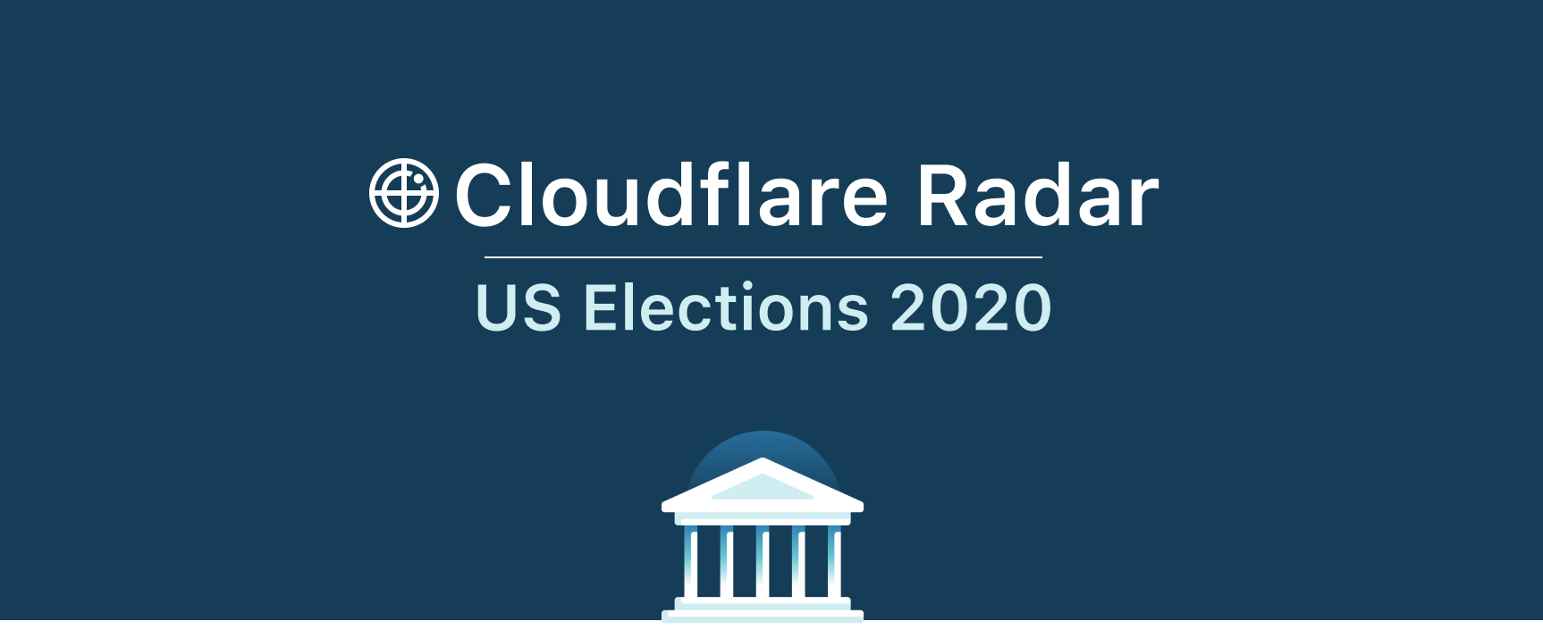 The Cloudflare Radar 2020 Elections Dashboard
