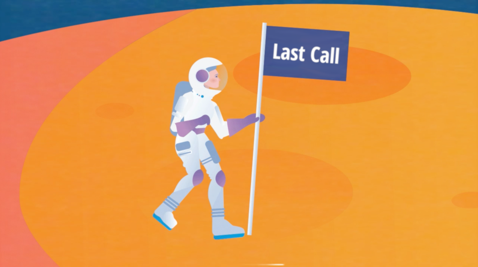A Last Call for QUIC, a giant leap for the Internet