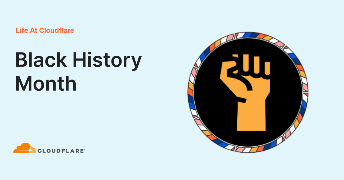 UK Black History Month at Cloudflare