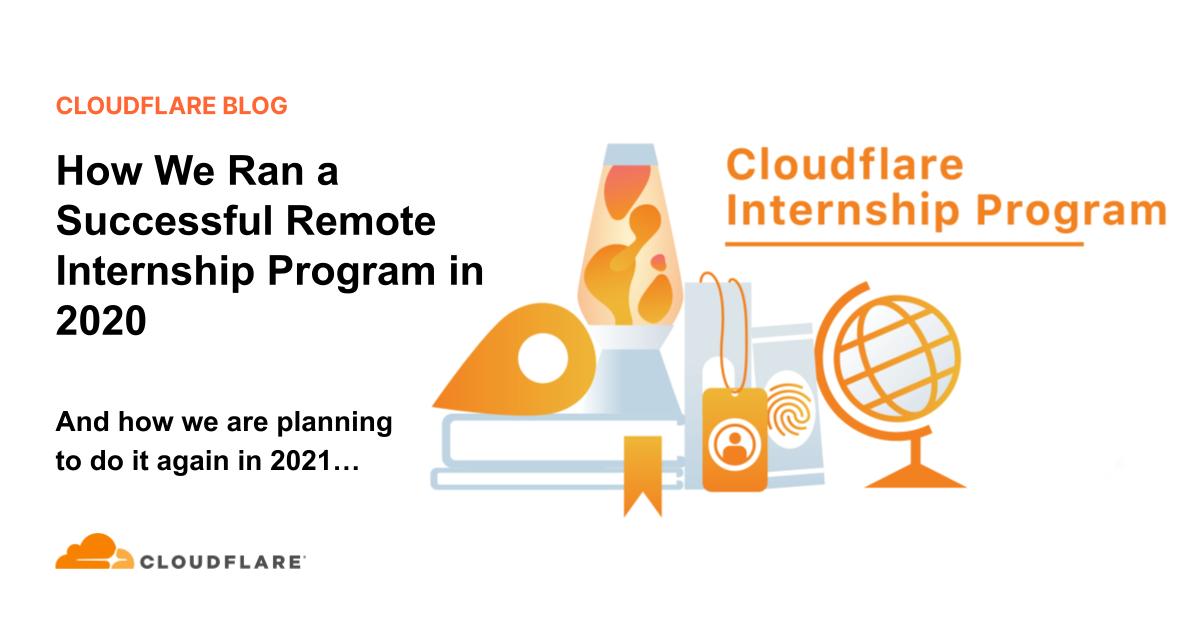 How We Ran a Successful Remote Internship Program in 2020