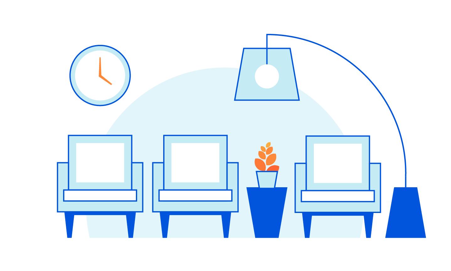 Sala d'attesa di Cloudflare