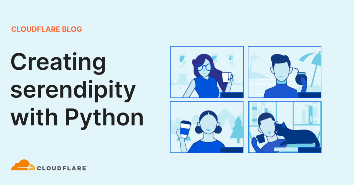 Creating serendipity with Python
