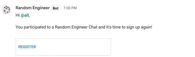 Random Employee Chats at Cloudflare