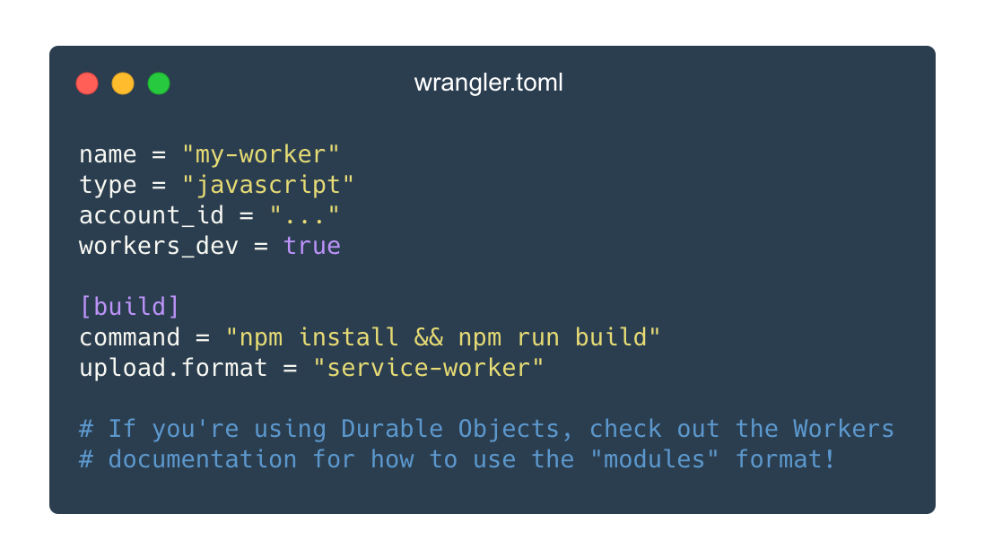 Introducing workers.new, custom builds, and improved logging for Workers
