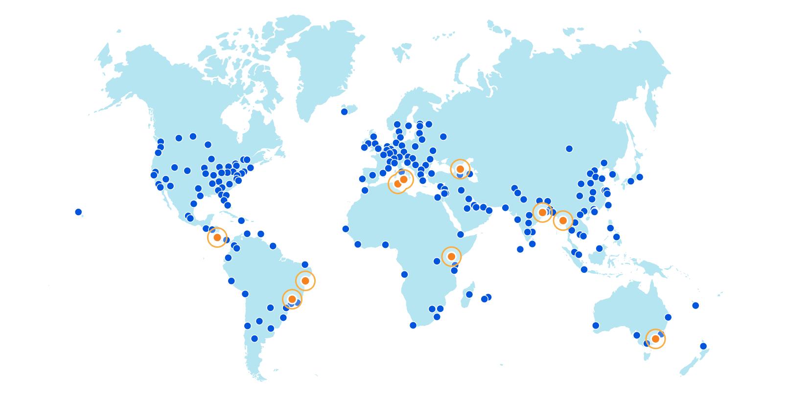 Сеть Cloudflare удваивает емкость ЦП и расширяется до десяти новых городов в четырех новых странах