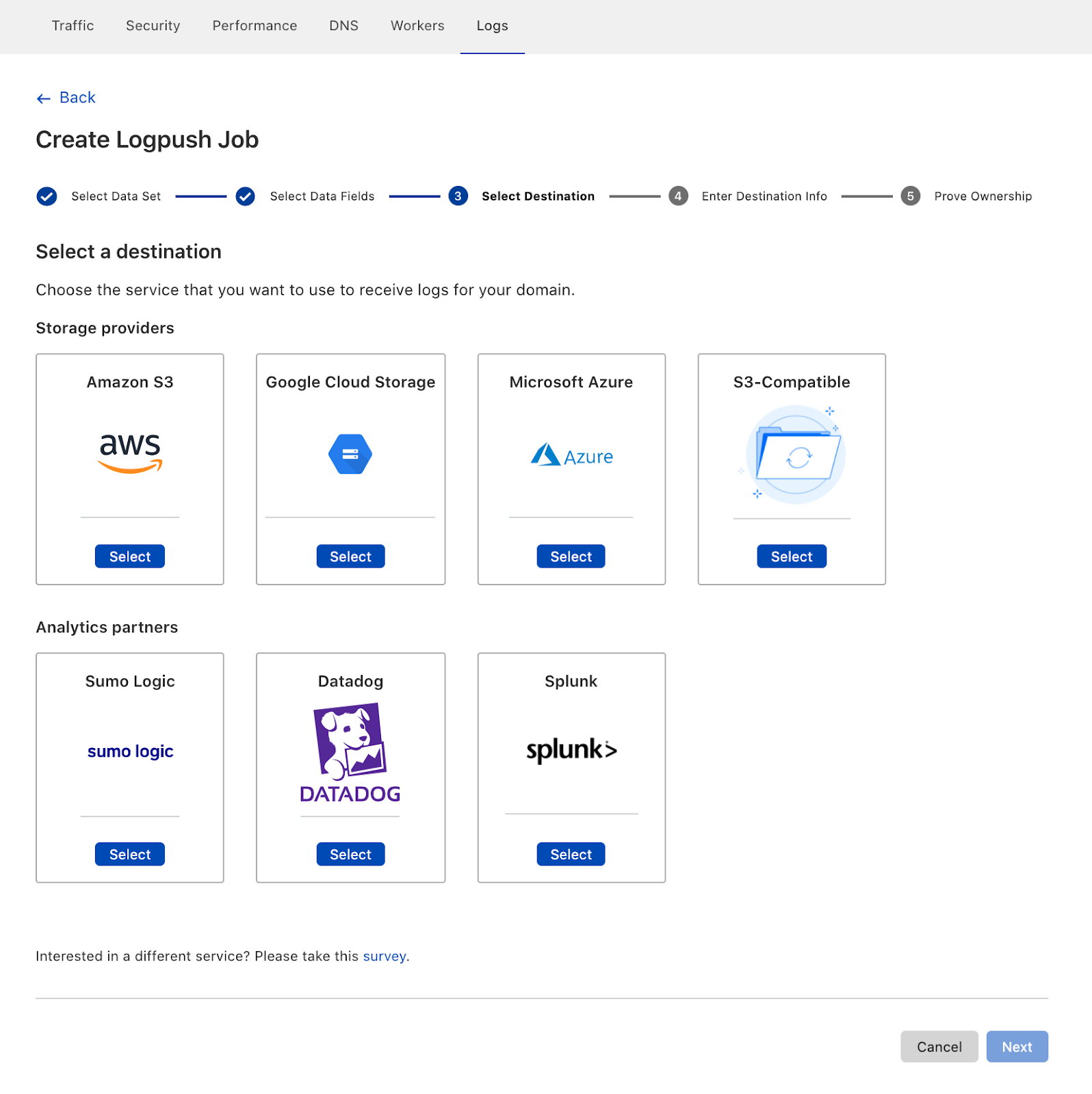 More products, more partners, and a new look for Cloudflare Logs