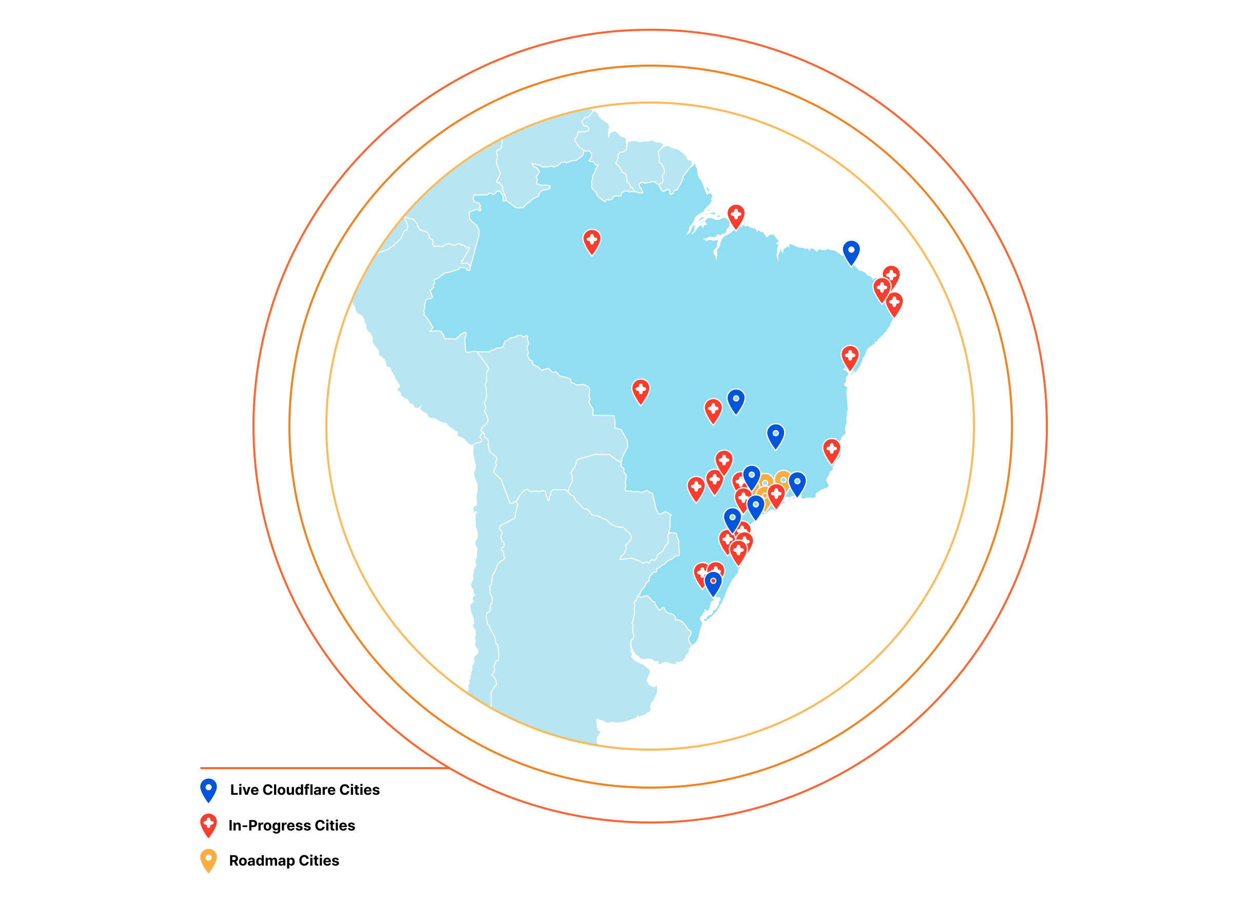 Expanding Cloudflare to 25+ Cities in Brazil