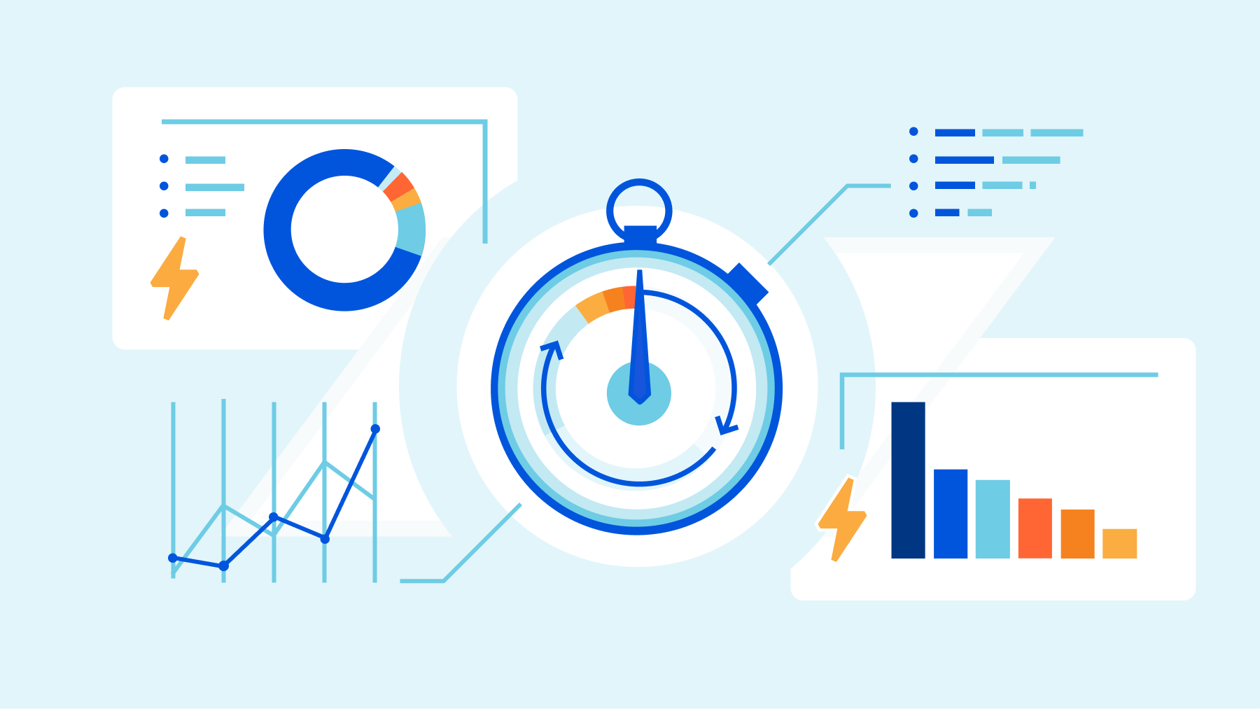 Data at Cloudflare just got a lot faster: Announcing Live-updating Analytics and Instant Logs