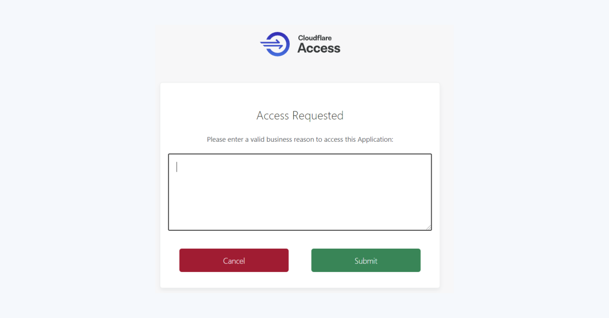 Announcing Access Temporary Authentication