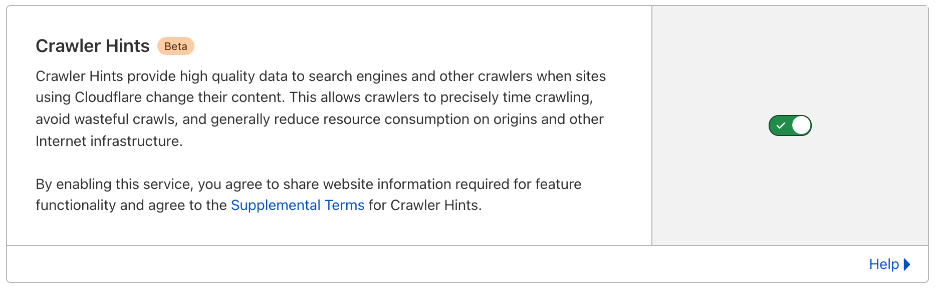 Crawler Hints Update: Cloudflare Supports IndexNow and Announces General Availability
