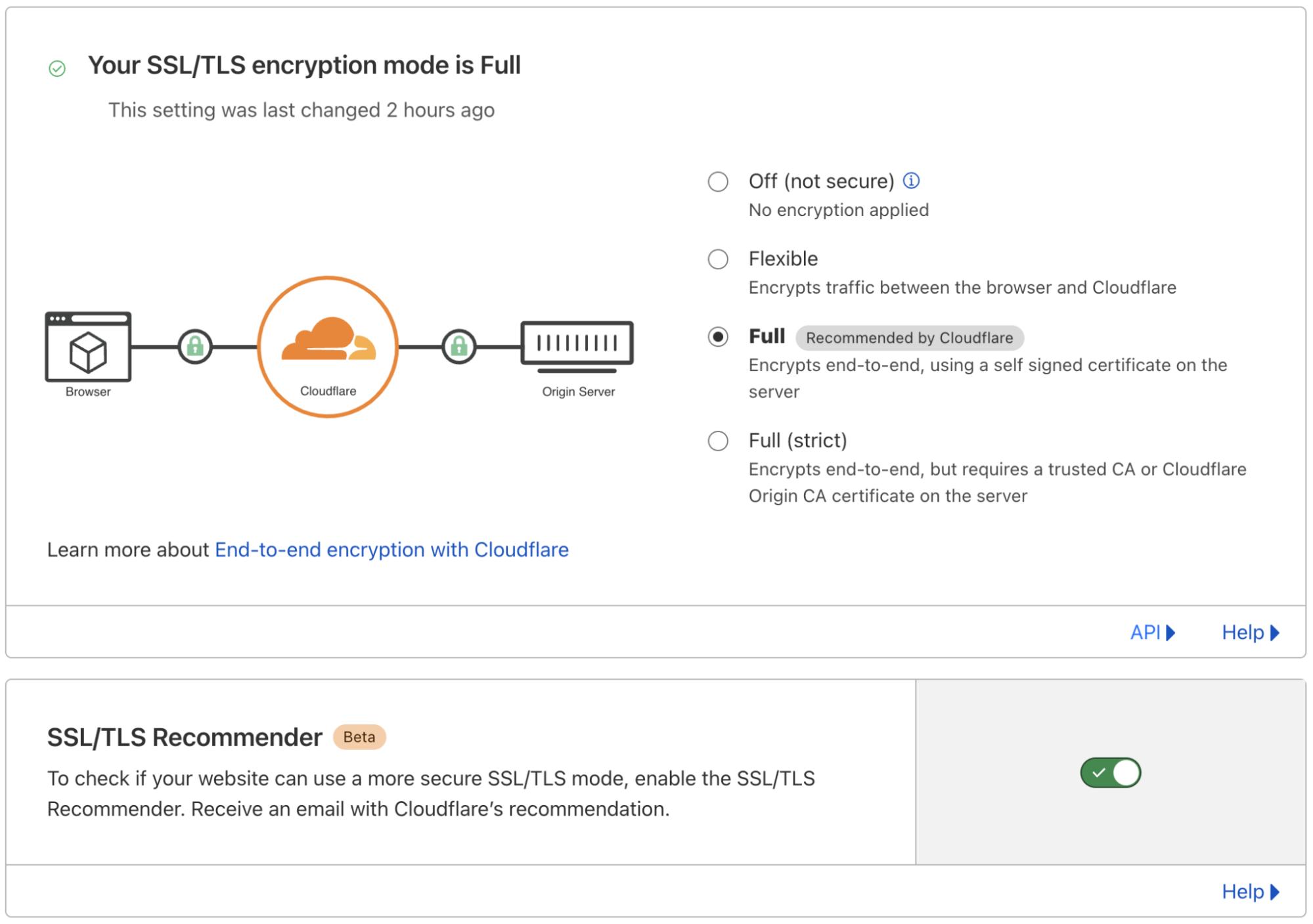 Introducing SSL/TLS Recommender