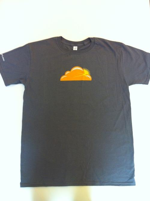Inaugural Cloudflare T-shirts