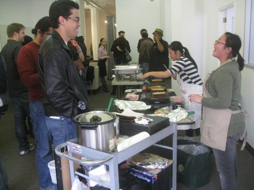 Startups Meet-up for Lunch at CloudFlare