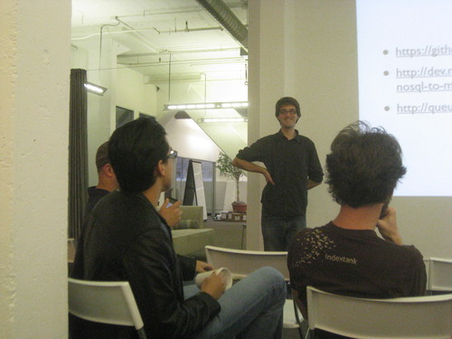 Ian Pye Presents SortaSQL @ the CloudFlare Loft
