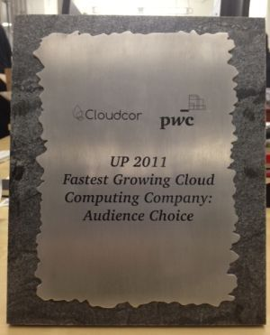 CloudFlare Wins Audience Choice Award for Fastest Growing Cloud Computing Company