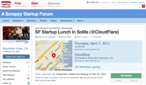 Meet-up With CloudFlare