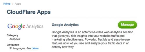 App a Day #3 - Google Analytics as an App