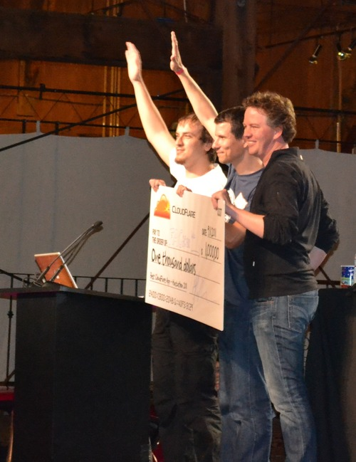 Favris is CloudFlare Winner at TechCrunch Disrupt Hackathon