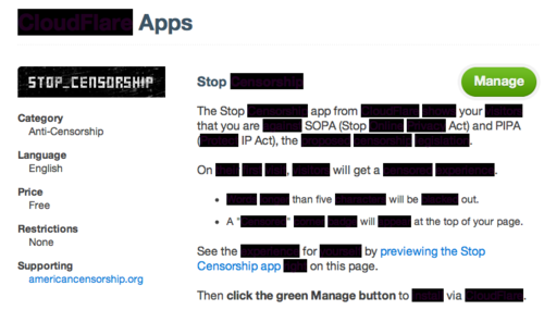 Introducing CloudFlare's Stop Censorship App