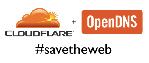 CloudFlare & OpenDNS Work Together to Help the   Web