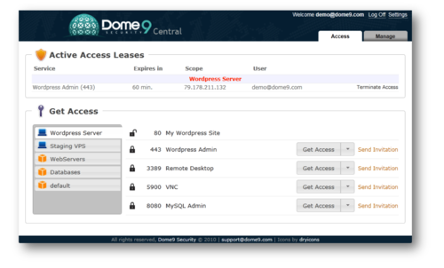 App: Dome9 Automates Secure Access to Your Servers