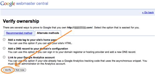 App a Day #4: Google Webmaster Tools